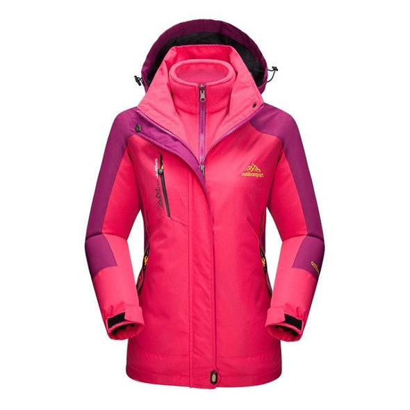 Outdoor Sports Waterproof Hiking Skiing Female Coats