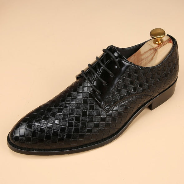 luxury Brand Glossy Dress Bespoke Men Shoes