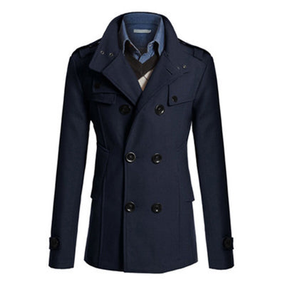 Hot Sale Mens Trench Coat Plus Size