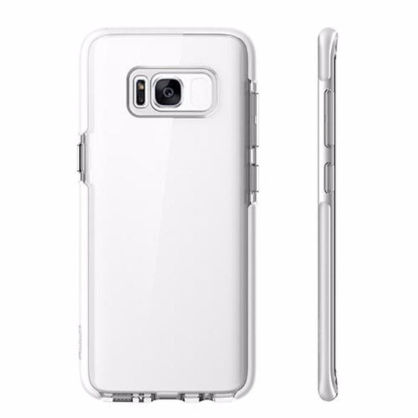 Anti-Knock Back Cover Protector With Edge Dual Layer TPU TPE