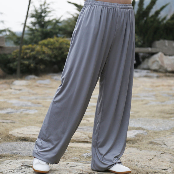 Martial arts Tai Chi Yoga Pants Acrobatics pants Kung Fu Cropped Pants Running Pants
