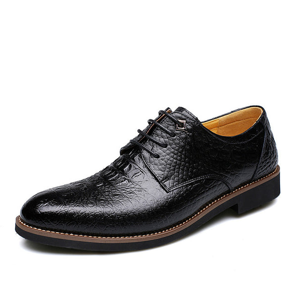Alligator Style Men's Dress/Business Shoes