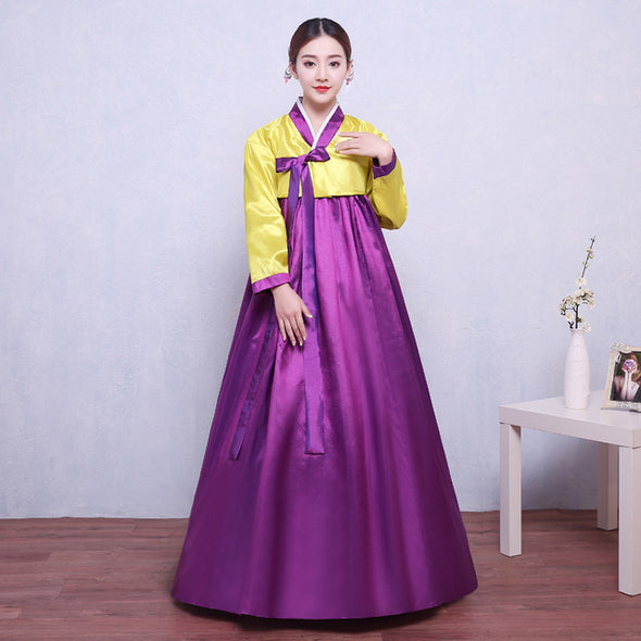 Korean Traditional Costume Female Palace Korean Hanbok Dress
