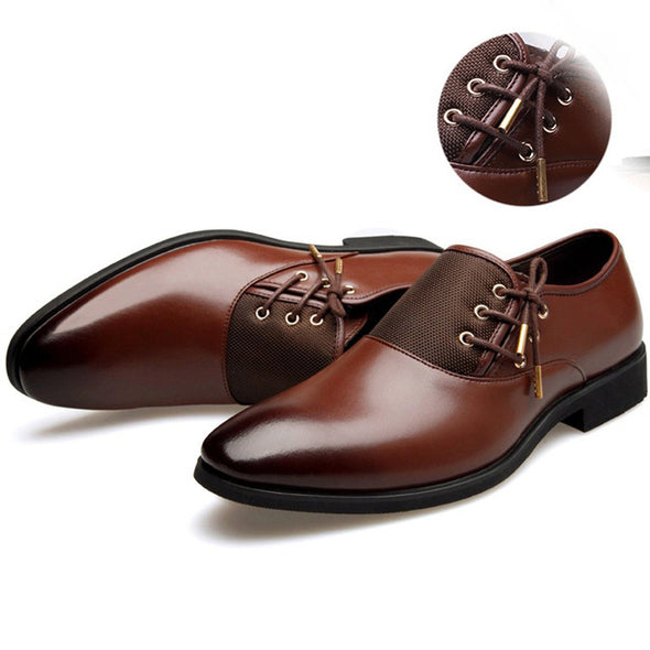 Luxury Brand Genuine Men's Business Dress Shoes