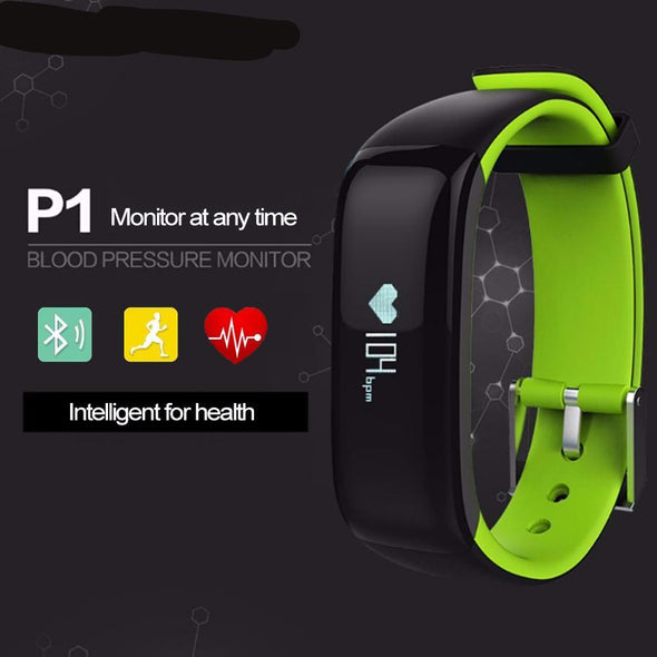 Bluetooth Smart Watches  Blood Pressure Heart Rate Monitor Waterproof Smartband for Android IOS Phone