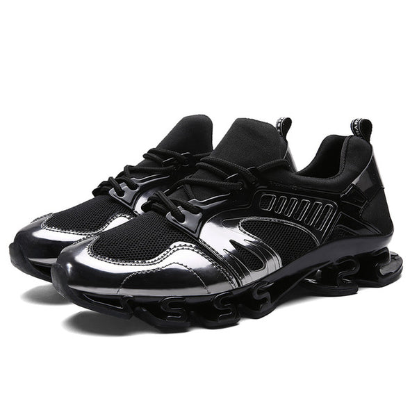 Men Outdoor Breathable Mesh Light Blade Shoes