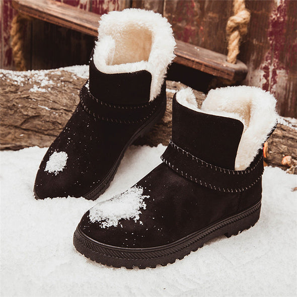 Winter Women Plus Size Ankle Boots