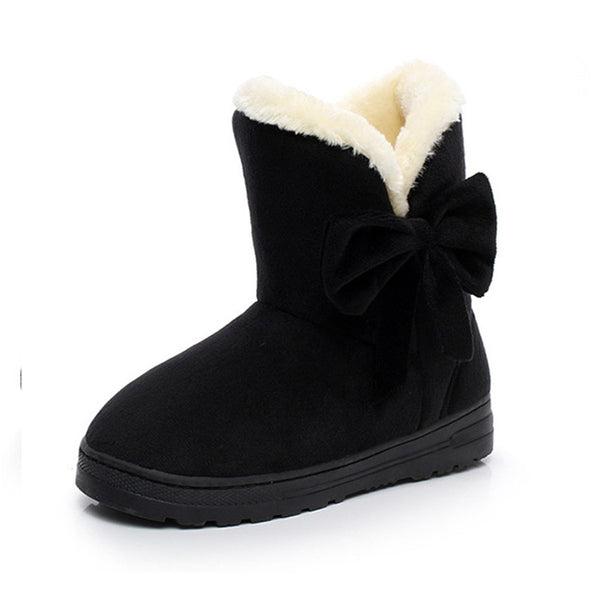 New Style Women's Winter Comfortable Cotton Snow Boots