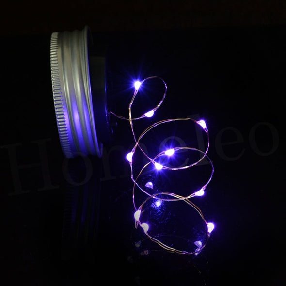 Battery Operated LED String Lights for Xmas Garland Party Wedding Decoration