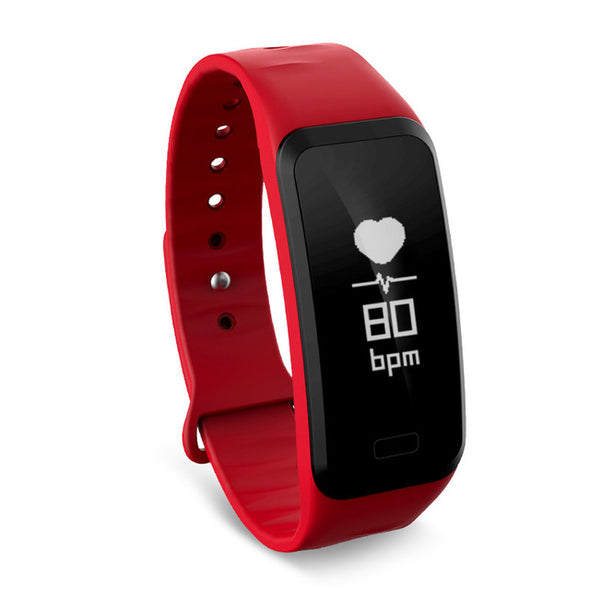 Smart Wristband Heart Rate Band Blood Pressure Bracelet