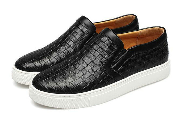 Men's Casual Flat Shoes Slip On  Shoe Big Size