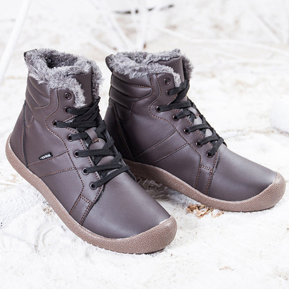 Casual Round Toe Snow Boots With Warm shoes