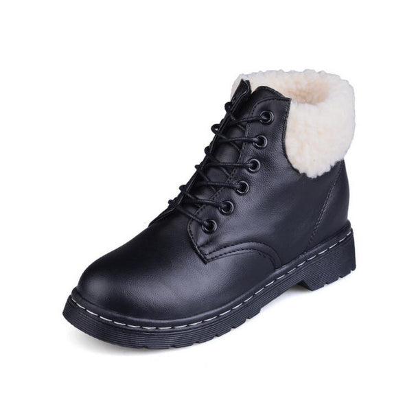 New Fashion Lace-up Snow Boots