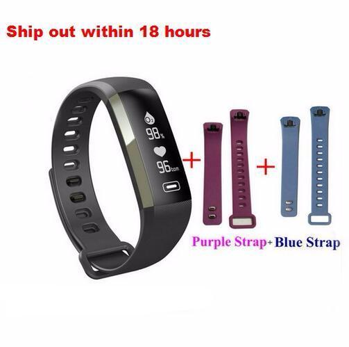 Smart Fitness Bracelet band Watch display blood pressure heart rate monitor Blood oxygen