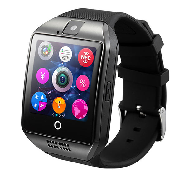 Q18 Bluetooth Curved Surface Screen Smart Watch
