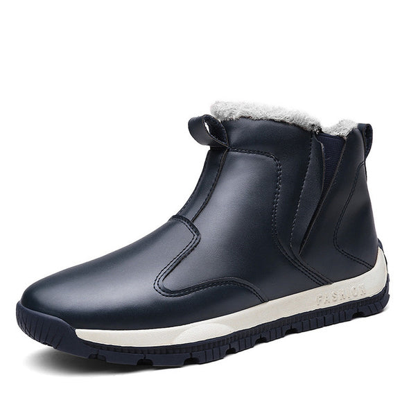 Men's New Arrival  Plush Snow Boots Big Size