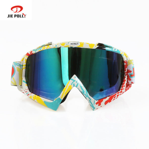 skiing cycling eye-wear anti-wind dust-proof goggles