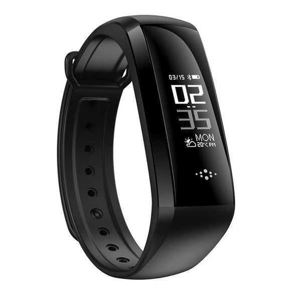 Intelligent Display Blood Pressure Heart Rate Monitor Blood Oxygen Smart Band