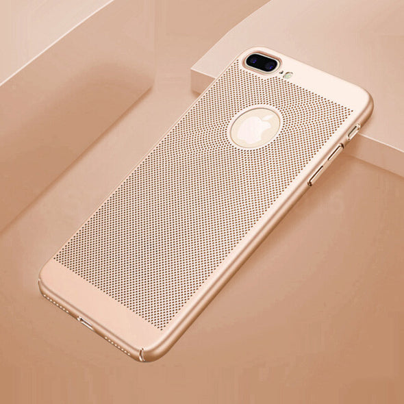Heat Dissipation PC Phone Cases For iPhone