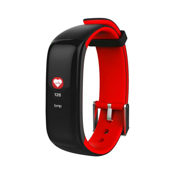 Heart Rate Monitor Pedometer Fitness Blood Pressure SmartBand
