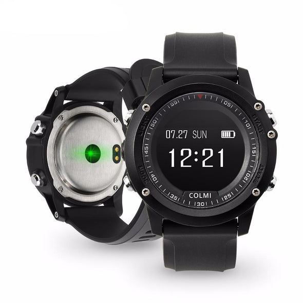 Heart Rate Monitor Call Reminder Clock Bluetooth Smart Watch
