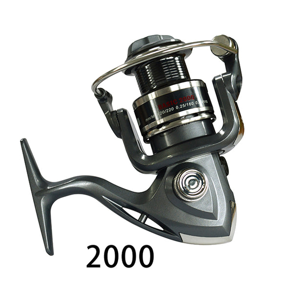 Fishing Reel 6BB Left/Right Hand Exchangeable Spinning Reel Front Drag Fishing Coil