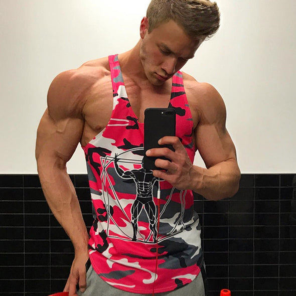 Men Bodybuilding Tank Tops