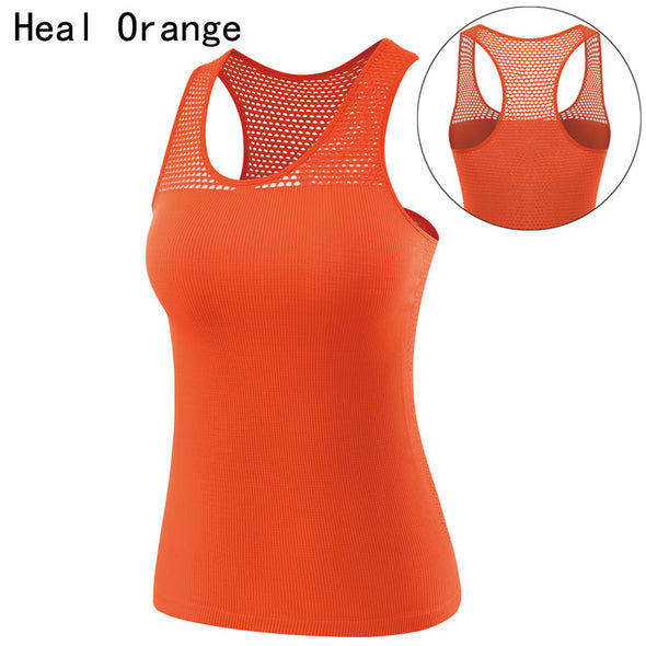 ORANGE Women Dry Fit Shirts Yoga Shirt Yoga Top