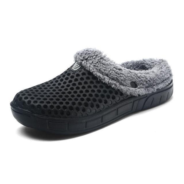 Winter Warm Fur Indoor Plush House Slipper