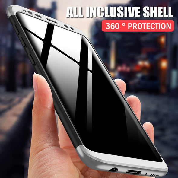 360 Full Protection Phone Case For Samsung  Shockproof Hard Cover