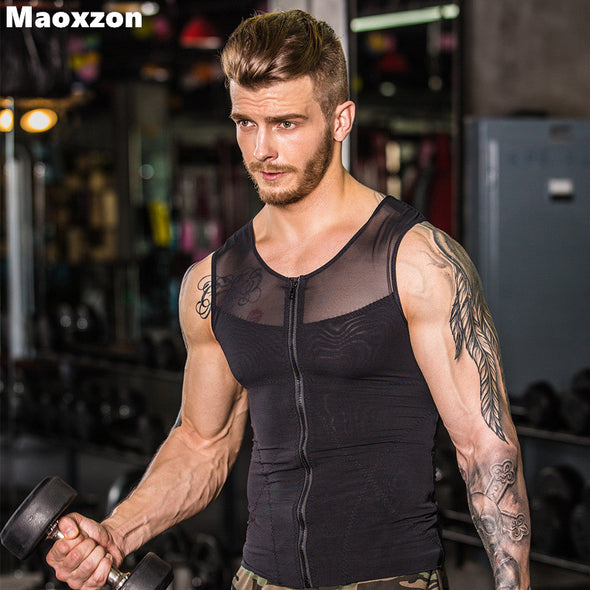 Men's Slimming Underwears Body Shaper fitness Vests
