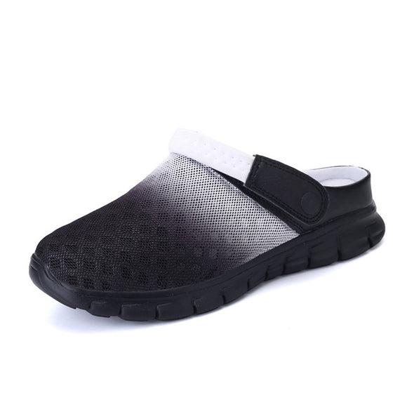 Summer Fashion Clogs Breathable Beach Slippers For Men