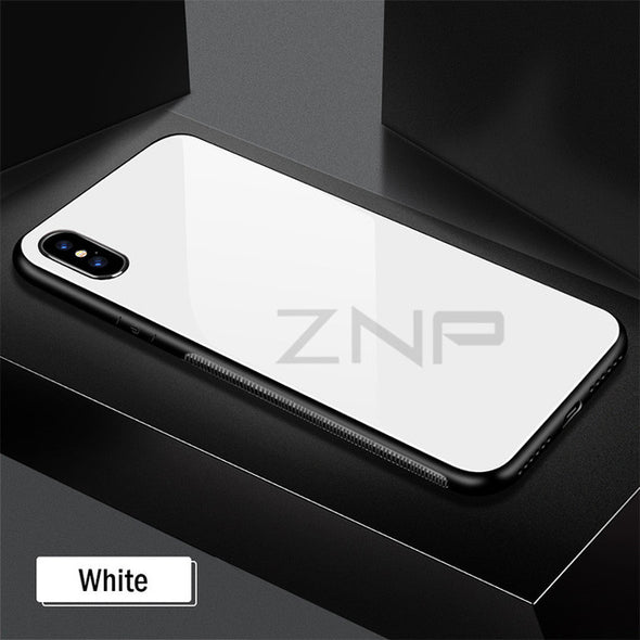 Luxury Gradient Color  Shockproof Cover Cases For iPhone