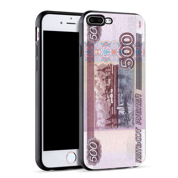 Vintage Big Money Dollar  Pound Soft TPU Phone Case for iPhone