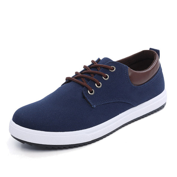 Fashion Comfortable Breathable Lace-UP Style Casual Canvas Shoes