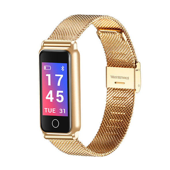 Fitness Tracker Smartwatch Waterproof Heart Rate Blood Pressure Monitor Smart Bracelet