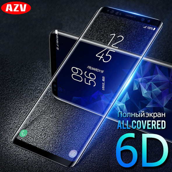 6D Tempered Glass Screen Protector For Samsung