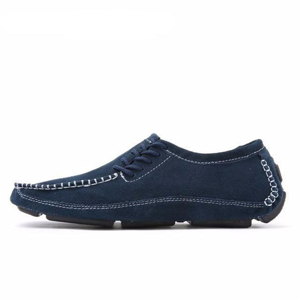 Big Size Faux Suede Classics Loafers