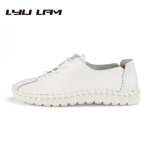 Mens Leisure Flat Brand Italian Manual Stitching Oxford Shoes