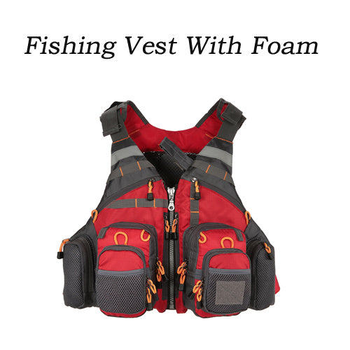 Outdoor Fishing Vest Life Safety Jacket Swimming Sailing Waistcoat Vest