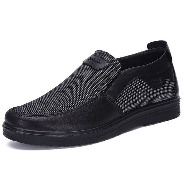 Men Casual Shoes Canvas Shoes Breathable Loafers Slip-on Footwear
