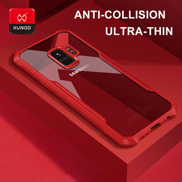 Luxury Ultra thin Transparent Case For Samsung Case