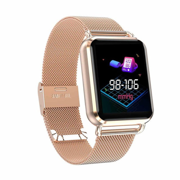 Waterproof Dynamic Blood Oxygen Tracker Heart Rate Smartwatch