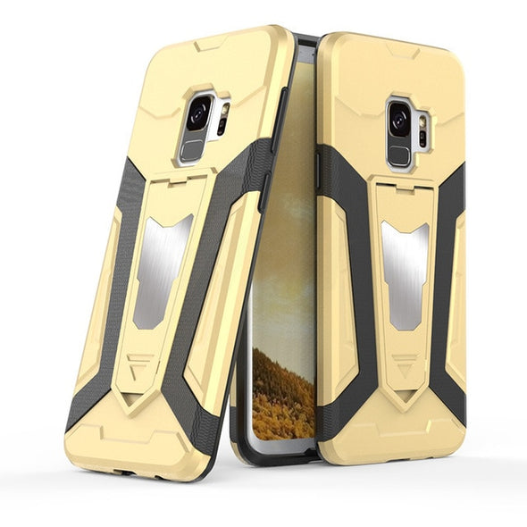 Luxury Armor Phone Case Fashion Shockproof Cover For Samsung