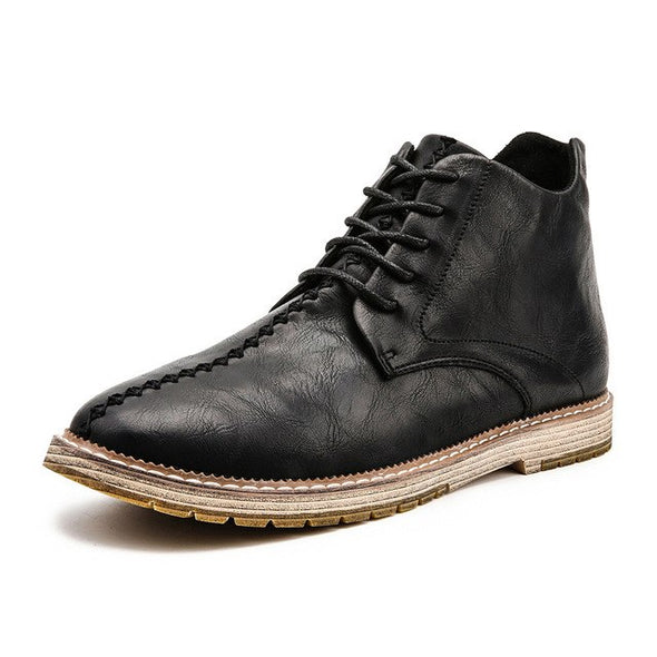 New Arrival Men's Genuine Leather Lace Up Shoes