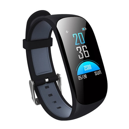 Color Screen Sport Wristband IP67 Waterproof GPS Smartband blood Heart Rate Monitor Fitness Tracker