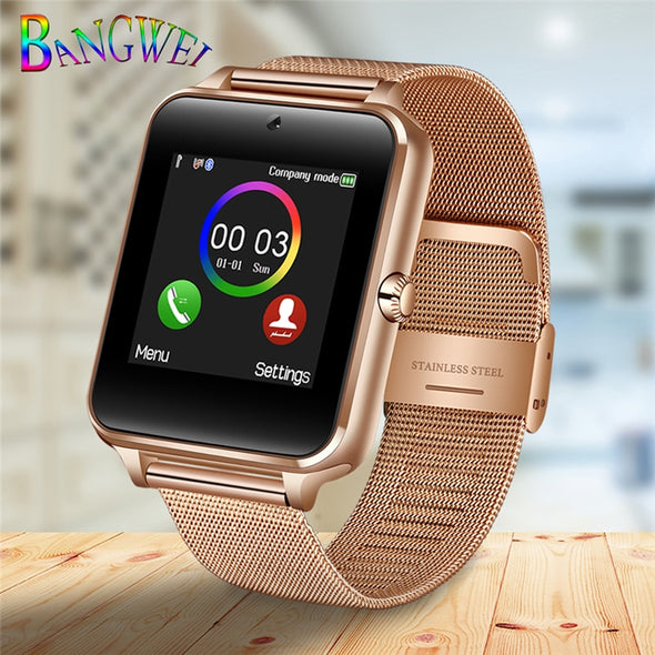 LED Color Touch Screen SIM Card Smart Watch