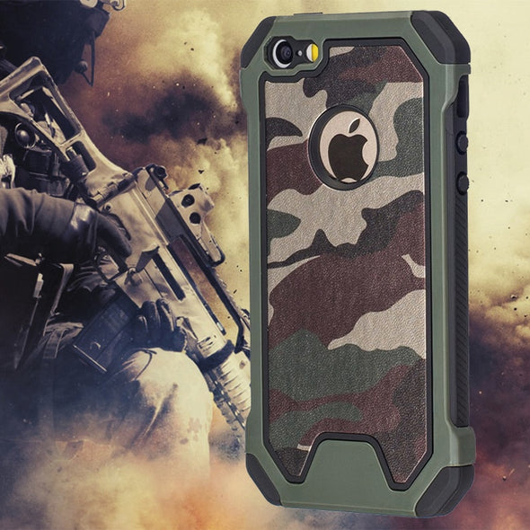 For iPhone  Case PC Edge Soft TPU Hybrid Defender Protective Cover
