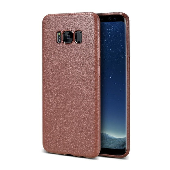Retro PU Leather Case For Samsung