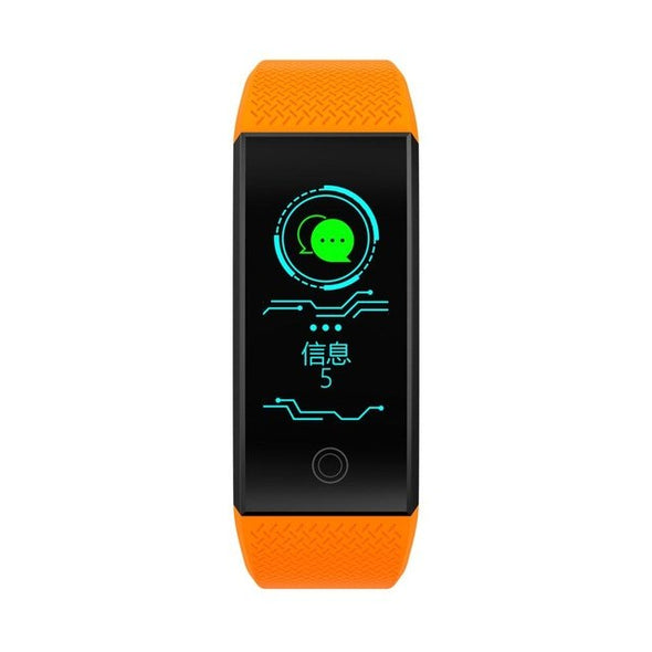 New QW18 Smart Bracelet Color Screen Fitness Tracker Sports Bracelet